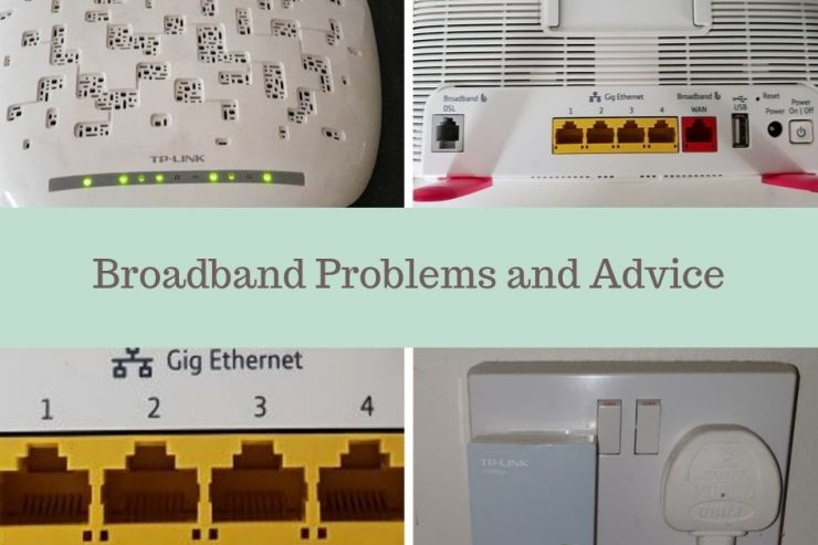 Broadband Problems and Advice