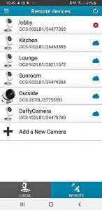 Home CCTV and Smart Cameras app screenshot
