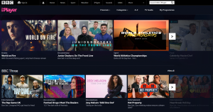 BBC I Player - Smart TV set up