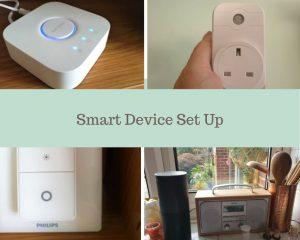 smart device set up
