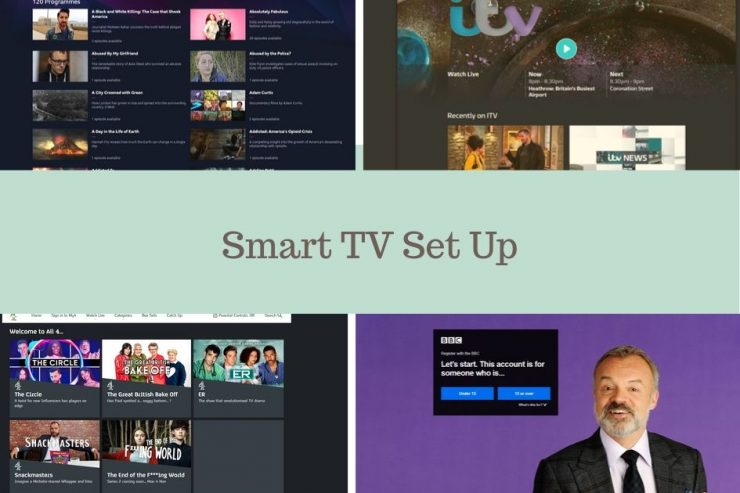 smart tv set up
