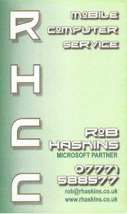 RHCC Mobile Computer Service