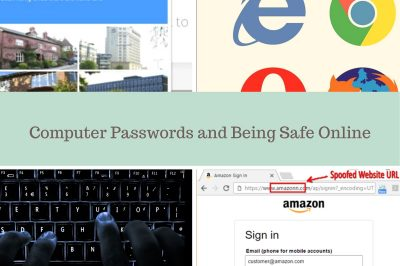 Computer Passwords and Being Safe Online
