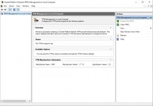 TPM OK Windows 11 - News So Far