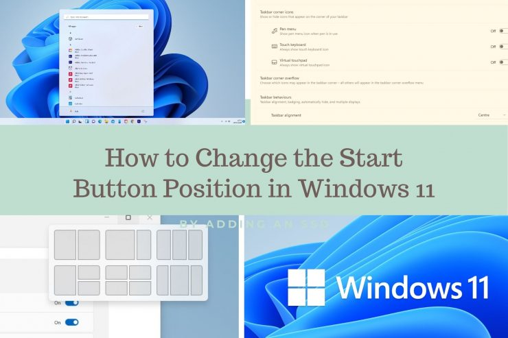 How to Change the Start Button Position in Windows 11